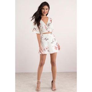 TOBI 2 Piece Top and Skirt Set